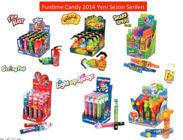Funtime 2014 Sezon Serileri