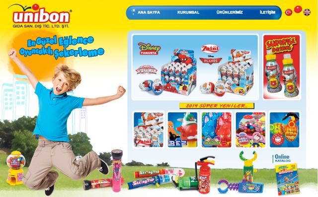 Unibon web sitesi